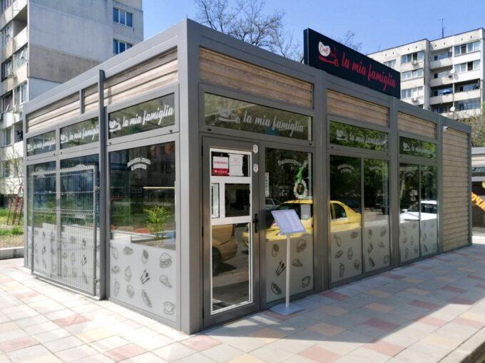 Модулна - Павилион тип търговия и услуги