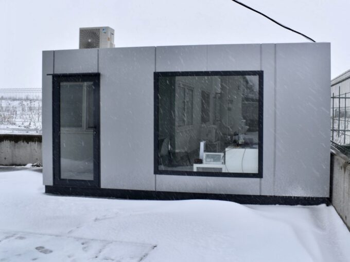 Мобилен преместваем офис Блумс с външни размери 240/500 см