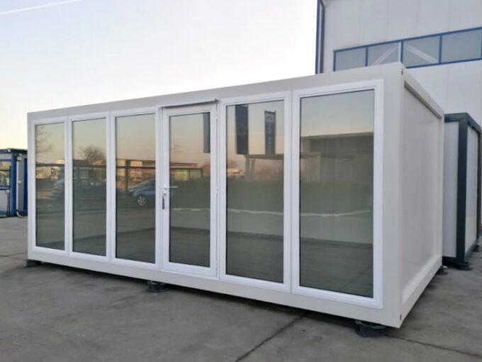 Вид офис контейнер Нико 18кв.м