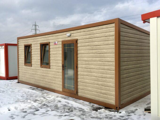 Жилищен контейнер сънлайт с едно помещение и баня
