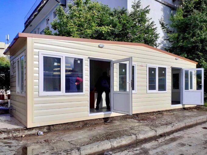 Жилищен контейнер 300/900 см с две 2 помещения и санитарен възел Топ Хаус ООД