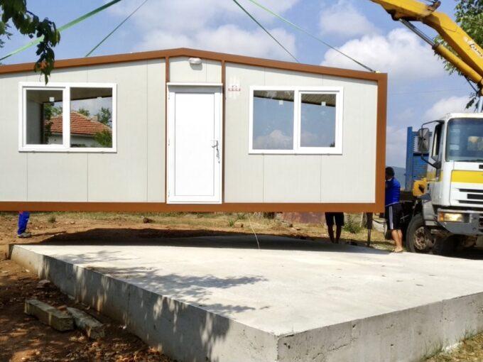 Модулна конструкция къща Дейли 2 42 кв.м