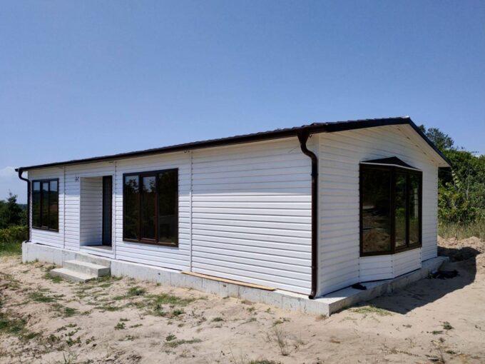 Преместваема къща 72кв.м 600/1200 см