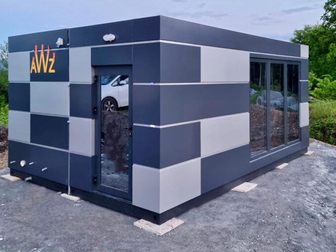 Модулни фургони офис контейнери мобилни магазини топ хаус павилиони будки