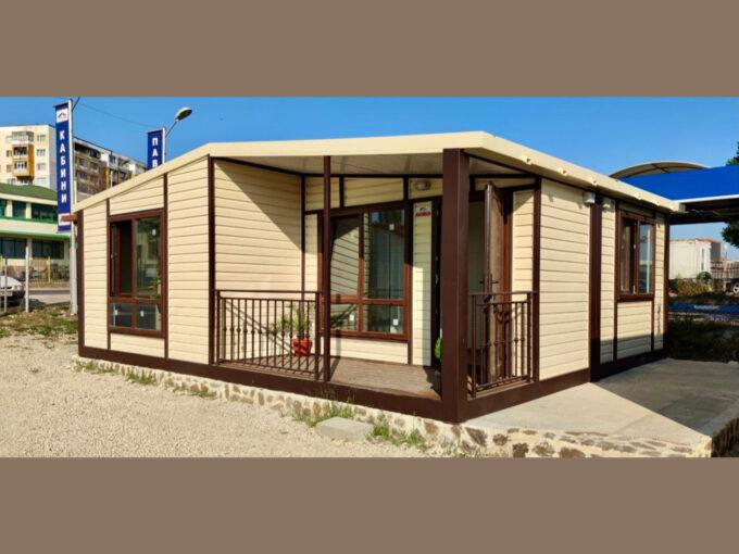 Преместваема къща, жилищен фургон, жилищен контейнер, хаус