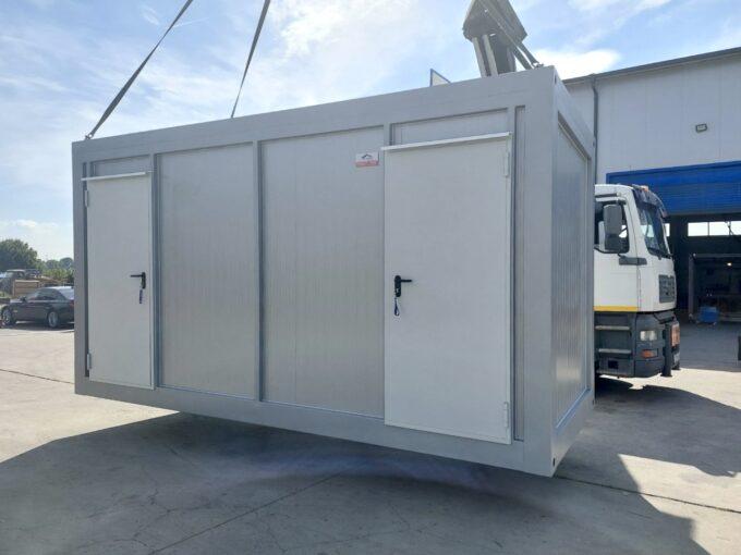Технически контейнер с противопожарни врати