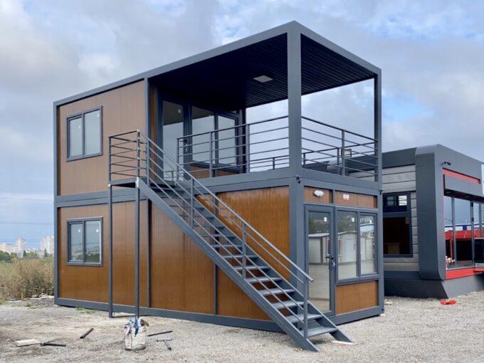 Дуплекс, жилищен контейнер на 2 етажа