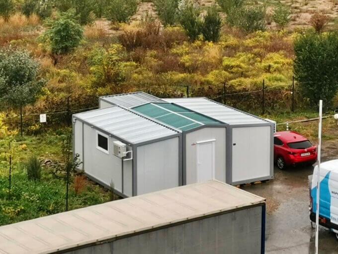 контейнери будки фургони индивидуални проекти