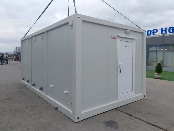 Санитарен фургон контейнер, Санитарна кабина ВЦ WC контейнер